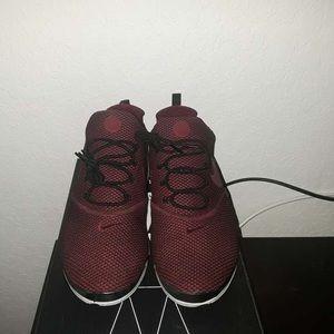 Burgundy Nike Prestos